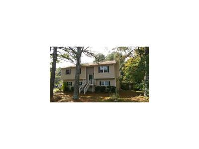 Powder Springs Single Family Home For Sale: 2940 Valley View Drive