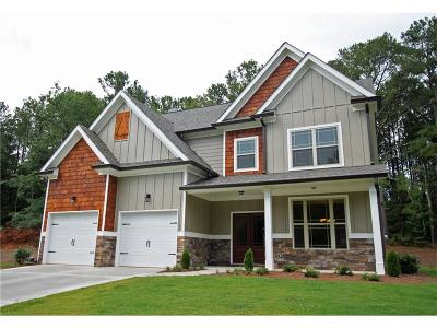 Cartersville Single Family Home For Sale: 16 Rock Ridge Court SE