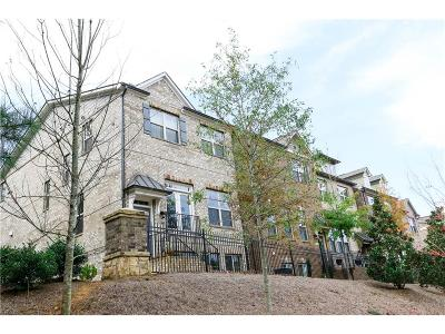 Johns Creek Condo/Townhouse For Sale: 5532 Cameron Parc Drive