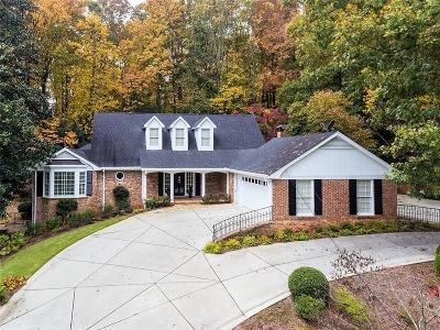 Single Family Home For Sale: 5670 Lake Island Drive NW