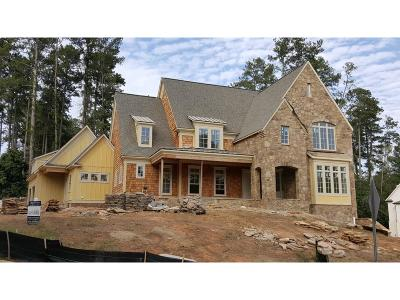 Marietta GA Single Family Home For Sale: $1,375,000