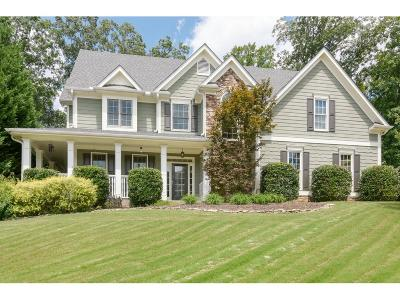 Kennesaw Single Family Home For Sale: 4966 Shallow Creek Trail