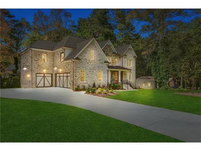 Marietta Single Family Home For Sale: 827 Mockingbird Lane