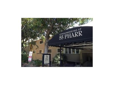Condo/Townhouse For Sale: 55 Pharr Road NW #305
