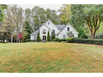 Peachtree Corners, Norcross Single Family Home For Sale: 4248 Ridgegate Drive
