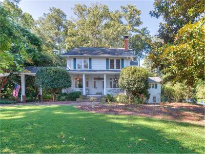 Atlanta GA Single Family Home For Sale: $1,695,000