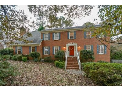 Lilburn Single Family Home For Sale: 1287 Plymouth Drive SW