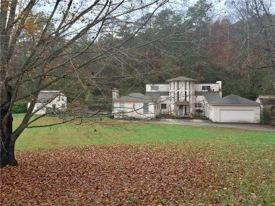 Dahlonega Single Family Home For Sale: 6592 Rufus Bryant Road