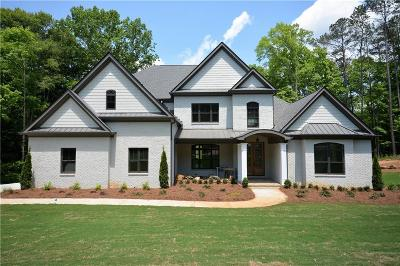 Kennesaw Single Family Home For Sale: 4370 Freys Farm Lane NW