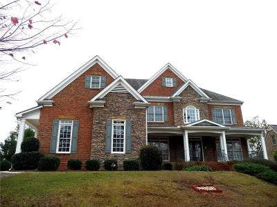 Buford Single Family Home For Sale: 3470 Falls Branch Court