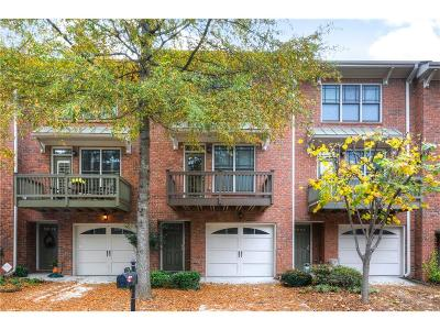 Tucker Condo/Townhouse For Sale: 1376 Idlewood Parc Crossing