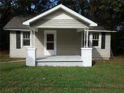 Single Family Home For Sale: 2255 Newnan Street