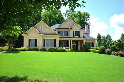 Woodstock Single Family Home For Sale: 502 Hickory Glen