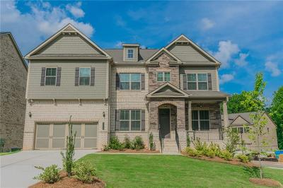 Buford Single Family Home For Sale: 4611 Point Rock Drive Drive