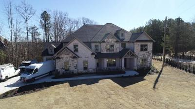 Buford Single Family Home For Sale: 2641 Camp Branch Road