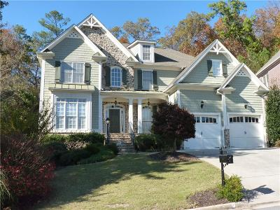 Marietta Single Family Home For Sale: 411 Wallis Farm Way