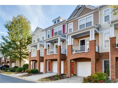 Alpharetta GA Condo/Townhouse For Sale: $227,000