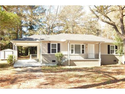 Mableton Single Family Home For Sale: 6190 Denny Lane