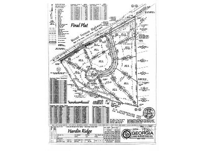 Sandy Springs Residential Lots & Land For Sale: 712 Bass Way