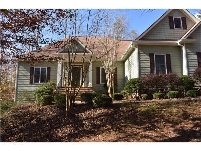 Dawsonville Single Family Home For Sale: 7870 Silver Creek Road