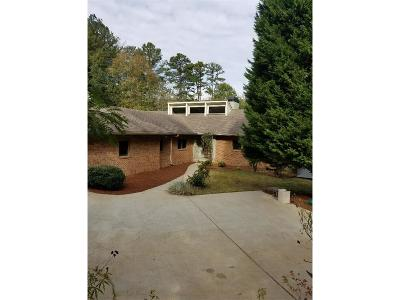 Marietta Single Family Home For Sale: 4320 Bishop Lake Road