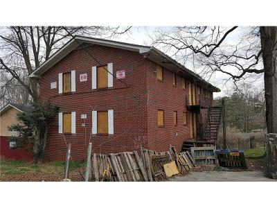 Atlanta Multi Family Home For Sale: 371 Lanier Street NW