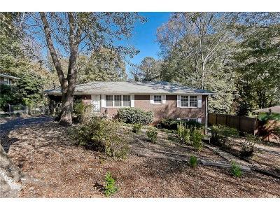 Single Family Home For Sale: 3532 Dunn Street SE