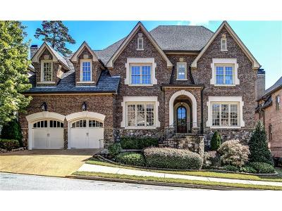 Brookhaven Single Family Home For Sale: 1767 Buckhead Lane NE