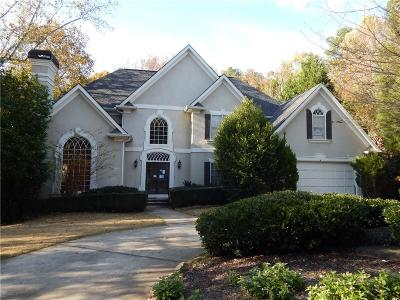 Alpharetta GA Single Family Home For Sale: $524,700