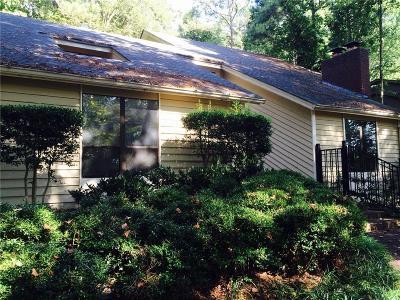 Atlanta Single Family Home For Sale: 9500 Huntcliff Trace