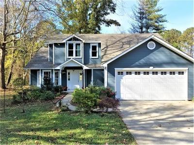 Marietta Single Family Home For Sale: 3901 Hadley Farm Drive