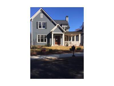 Norcross Single Family Home For Sale: 330 Nesbit Street #11