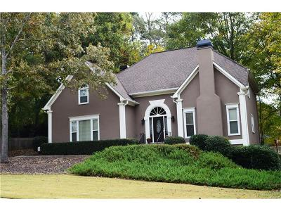 Marietta Single Family Home For Sale: 573 Trailwood Lane SW