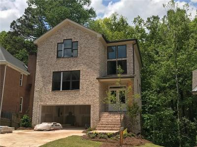 Atlanta GA Single Family Home For Sale: $699,900