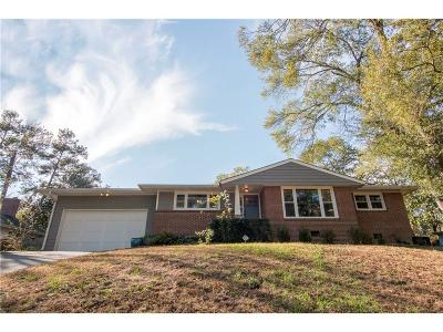 Single Family Home For Sale: 3306 Pine Meadow Road NW