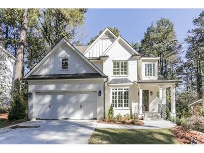 Single Family Home For Sale: 2499 Warren Road NW
