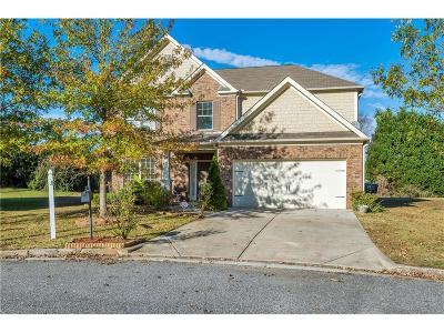 Grayson Single Family Home For Sale: 1719 Trillium View Court
