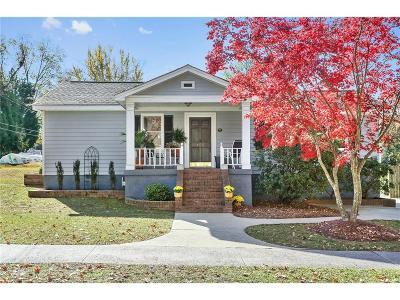 Marietta Single Family Home For Sale: 159 Stewart Avenue