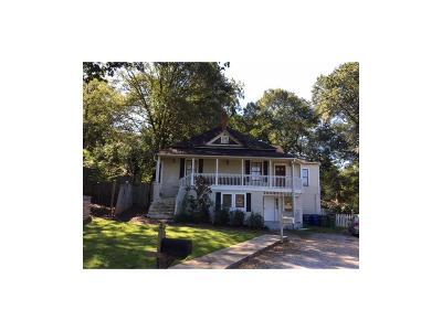 Atlanta Single Family Home For Sale: 1571 Woodbine Avenue SE