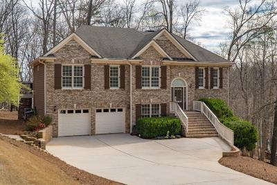 Forsyth County, Gwinnett County Single Family Home For Sale: 8545 Anchor On Lanier Court