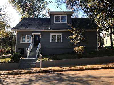 Atlanta Single Family Home For Sale: 1280 Arkwright Place SE