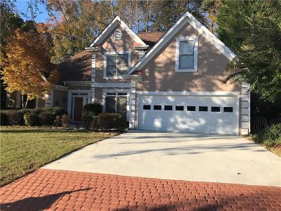 Acworth Single Family Home For Sale: 3921 Golflinks Drive NW