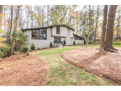 Atlanta Single Family Home For Sale: 1843 Breckenridge Drive NE