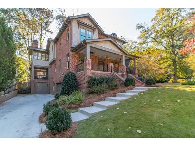 Atlanta Single Family Home For Sale: 1804 Meadowdale Avenue NE #1804