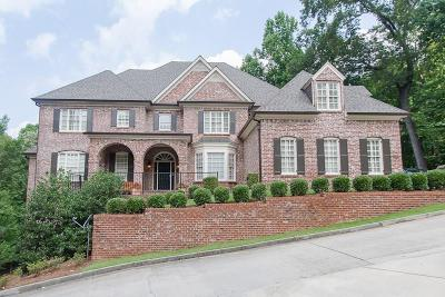 Sandy Springs Single Family Home For Sale: 4970 Powers Ferry Road NW