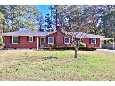 Lawrenceville Single Family Home For Sale: 277 Pineview Drive