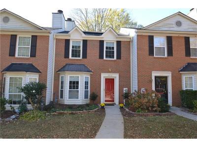 Smyrna Condo/Townhouse For Sale: 2952 Lexington Trace Drive SE