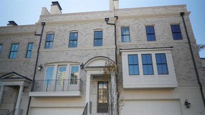 Atlanta Condo/Townhouse For Sale: 3715 Peachtree Road NE #7