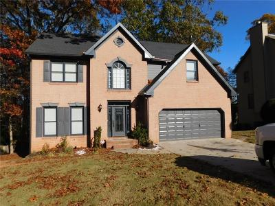 Lawrenceville Single Family Home For Sale: 2785 Springrock Hill Trail
