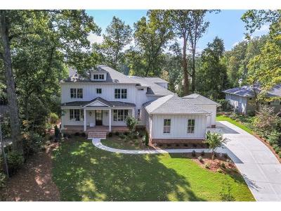 Sandy Springs Single Family Home For Sale: 375 Highbrook Drive
